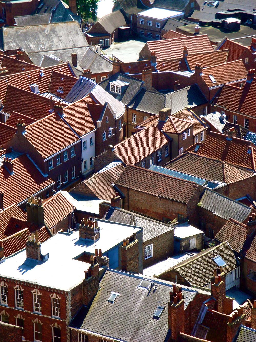 Rooftops       York, England