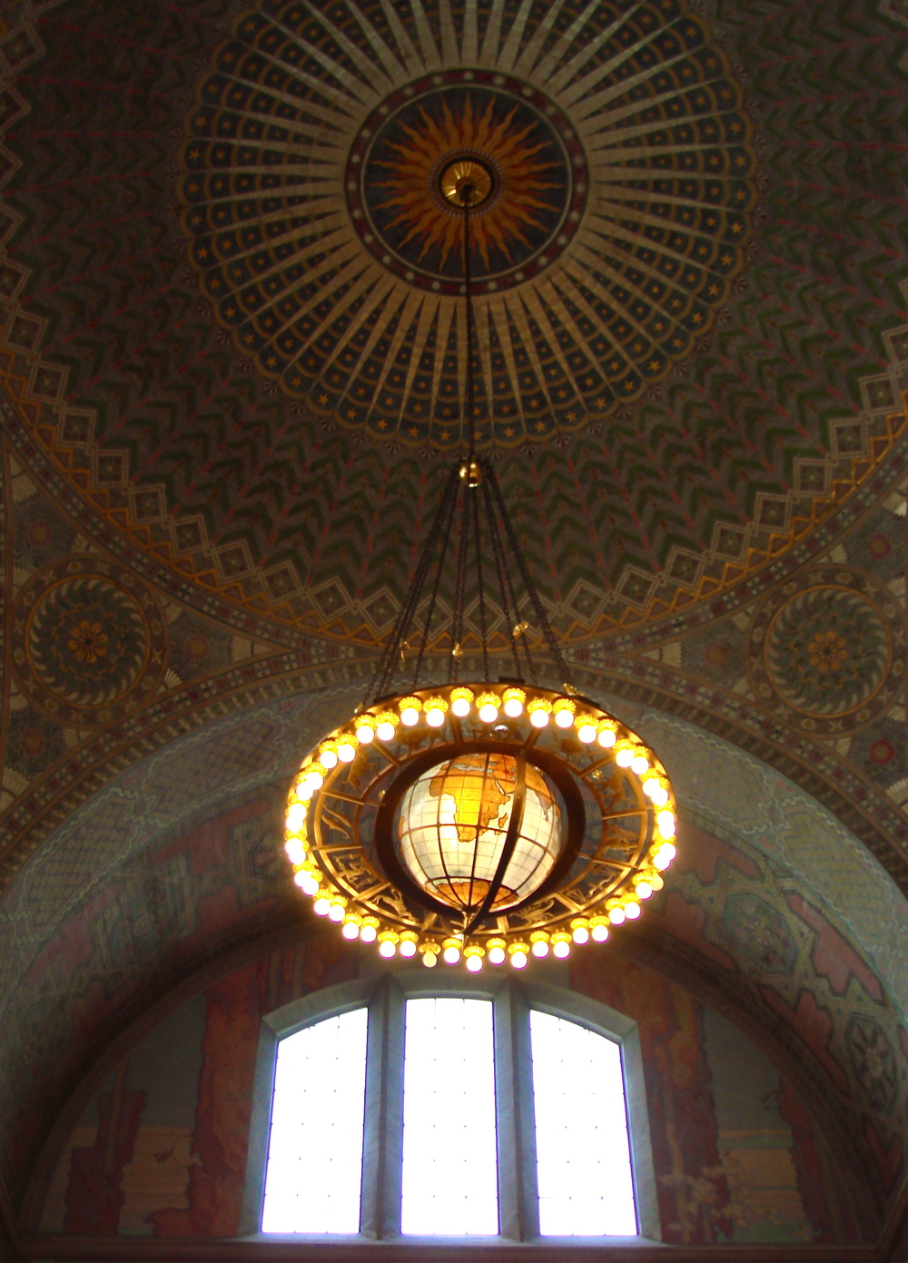 The Grand Rotunda           Central Library, Los Angeles, California