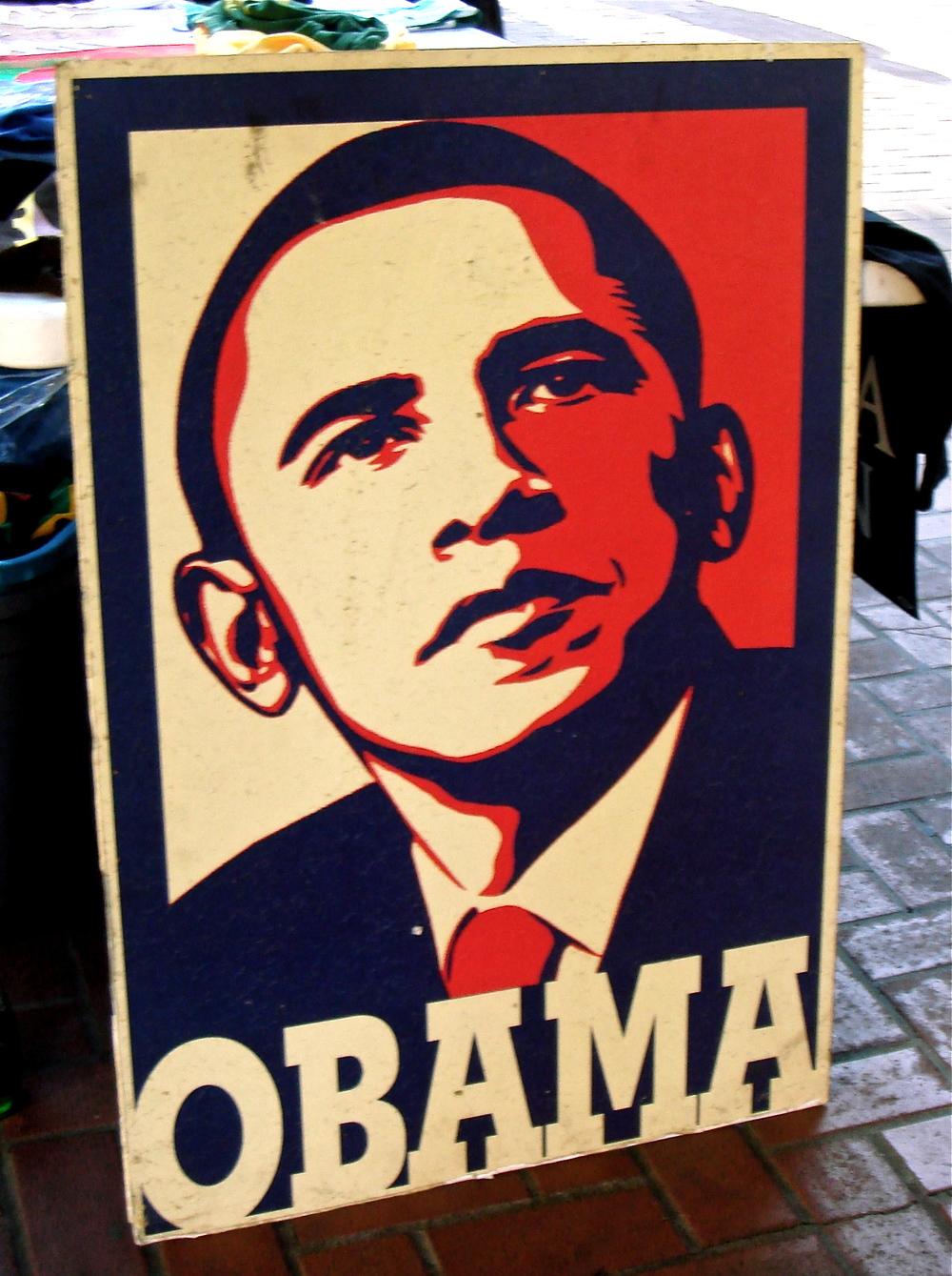 Obama Poster      San Francisco, California