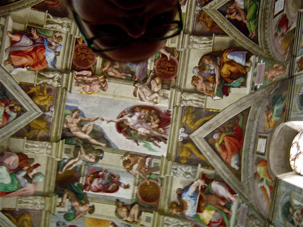 The Sistine Ceiling             Vatican, Rome (by Michelle Duke)