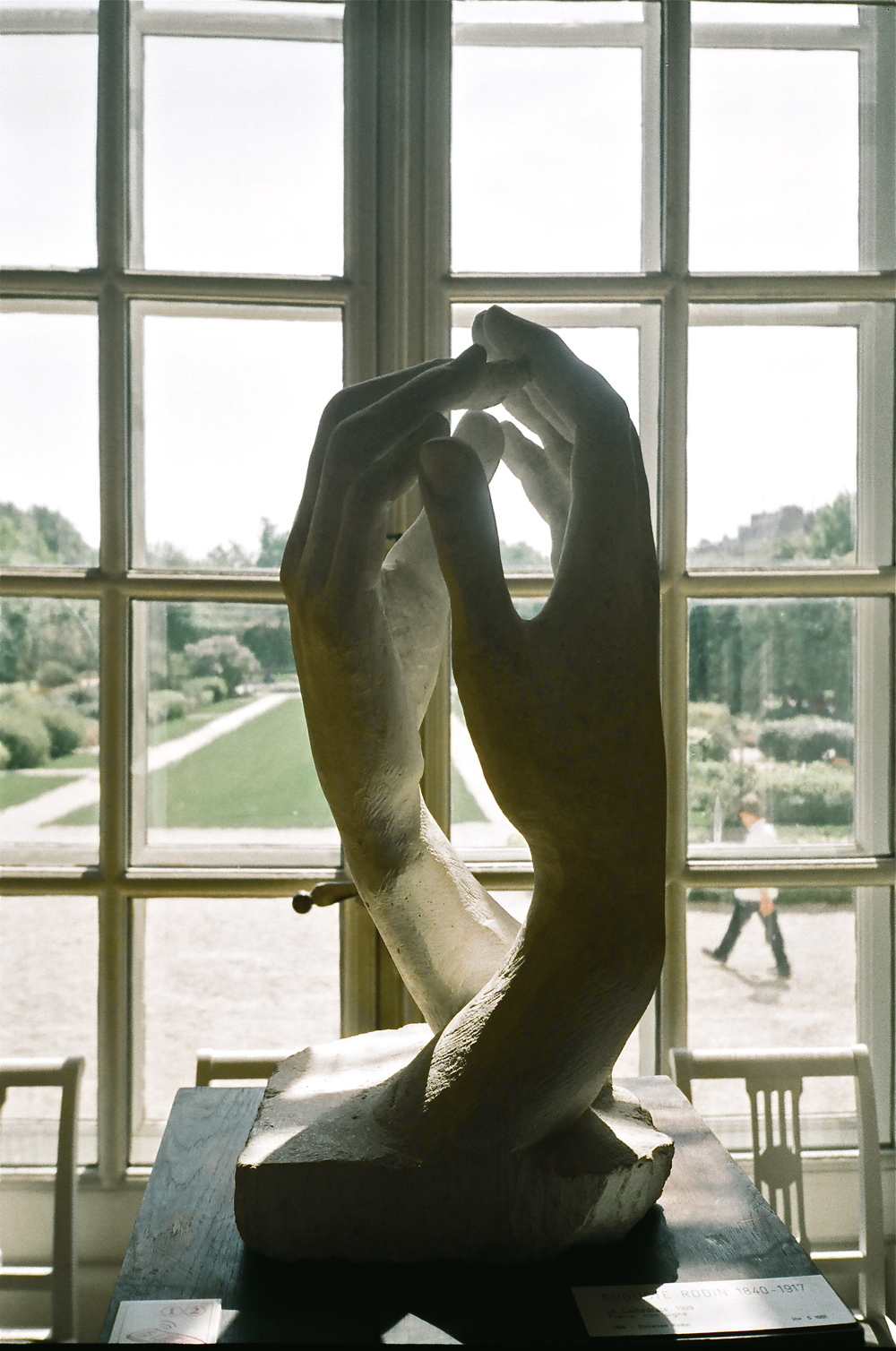 Auguste Rodin             Paris, France (Photo taken on 35mm film)