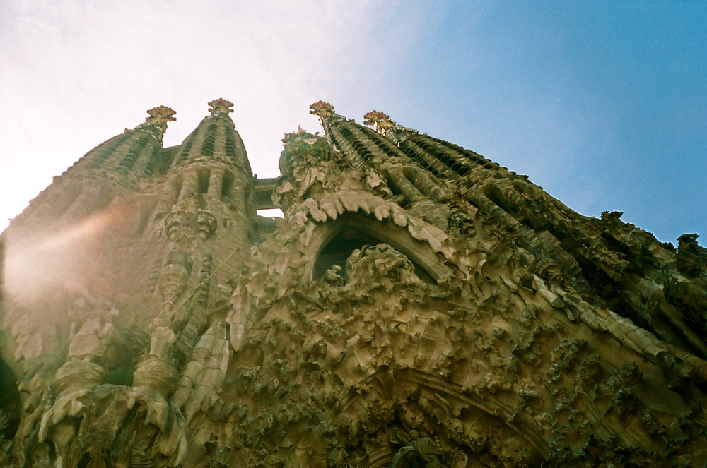 When the Sagrada Familia is finished it will have 18 towers!