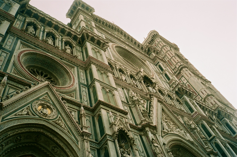 The Duomo (front facade recently cleaned)