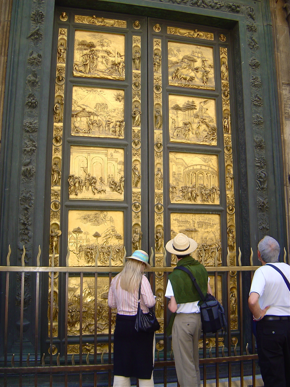 The Gates of Paradise (Porta del Paradiso)   Lorenzo Ghiberti
