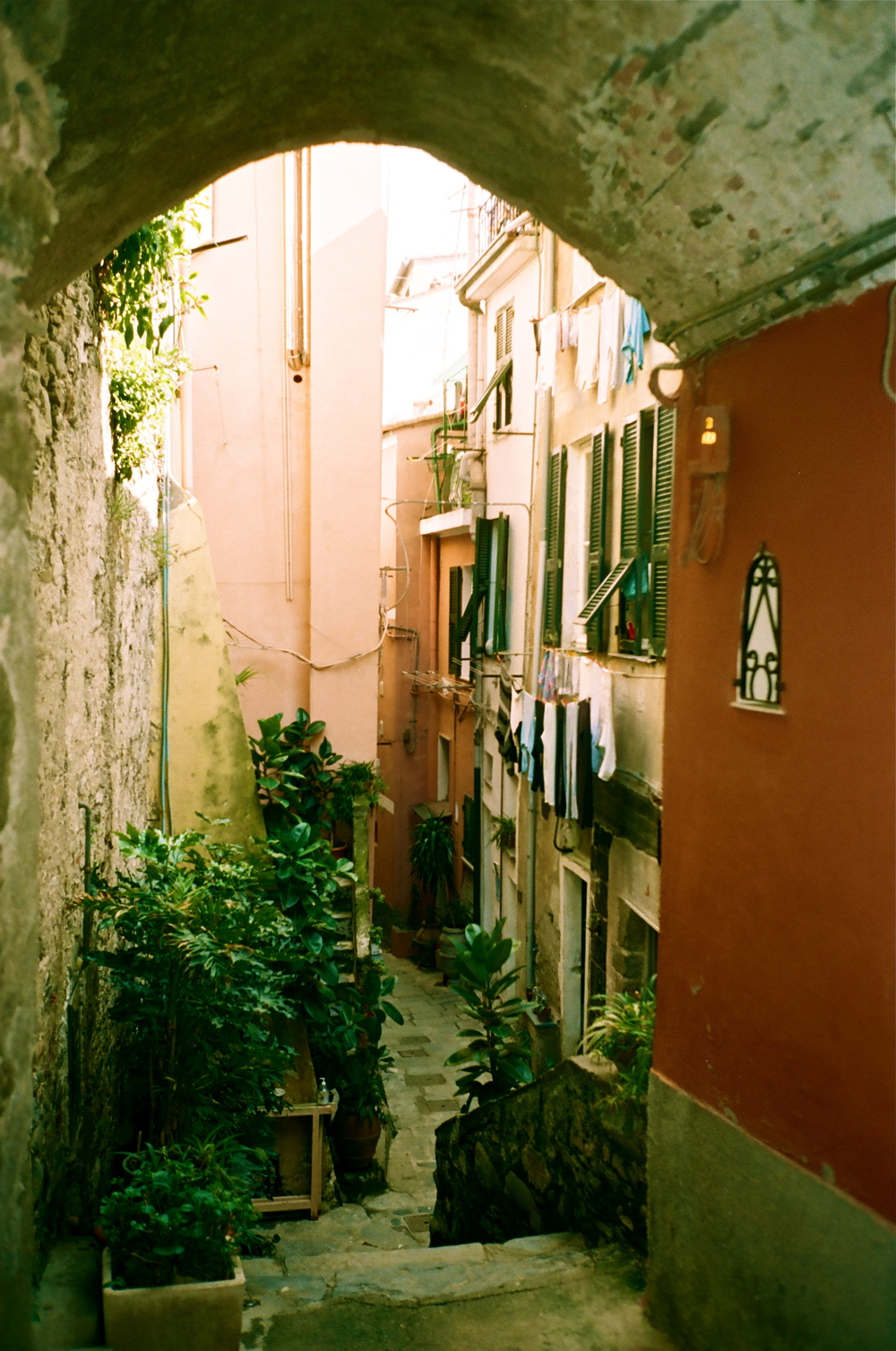 Hidden Passageway       Cinque Terre, Italy