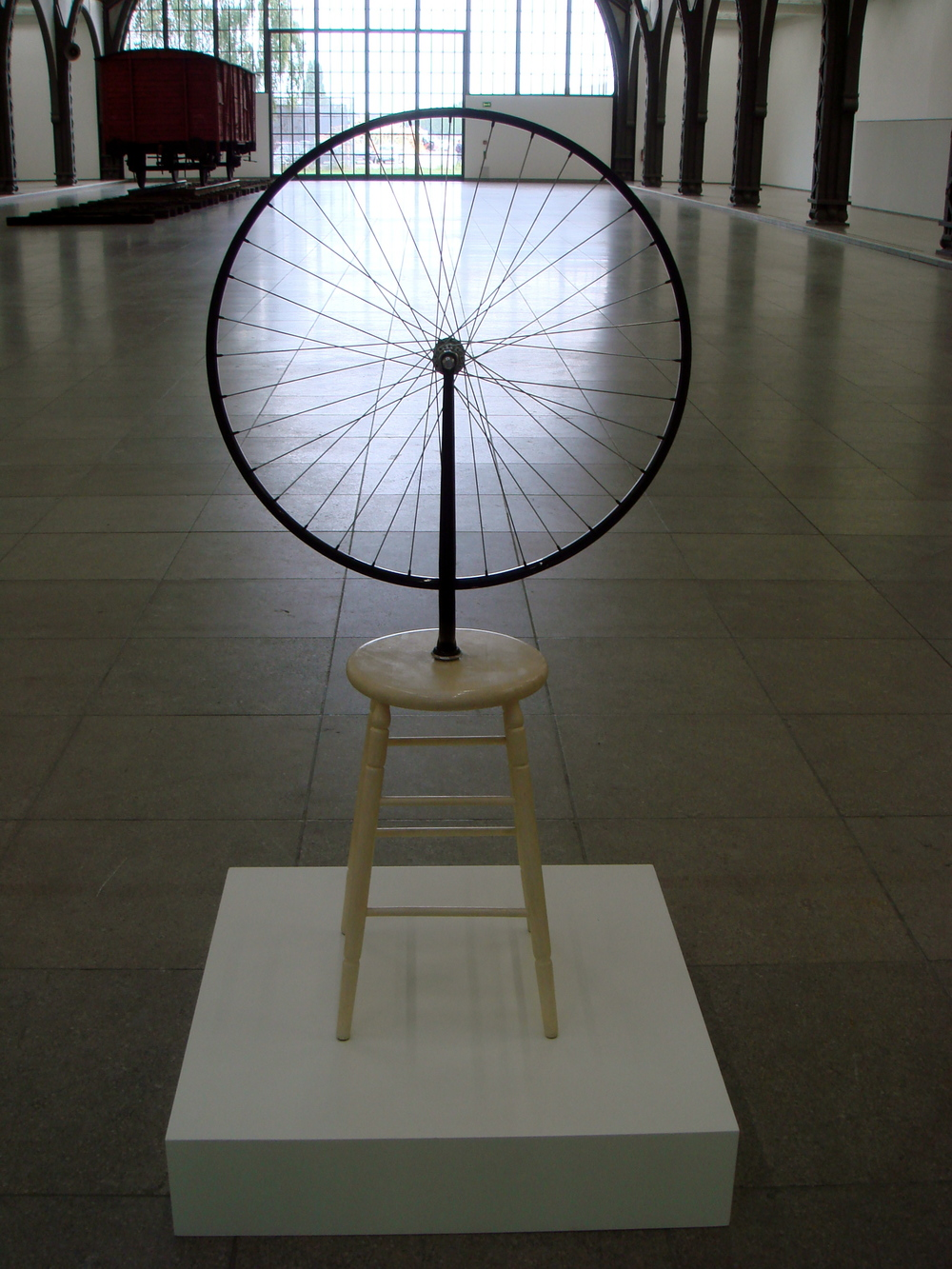 Bicycle Wheel, 1913      Marcel Duchamp