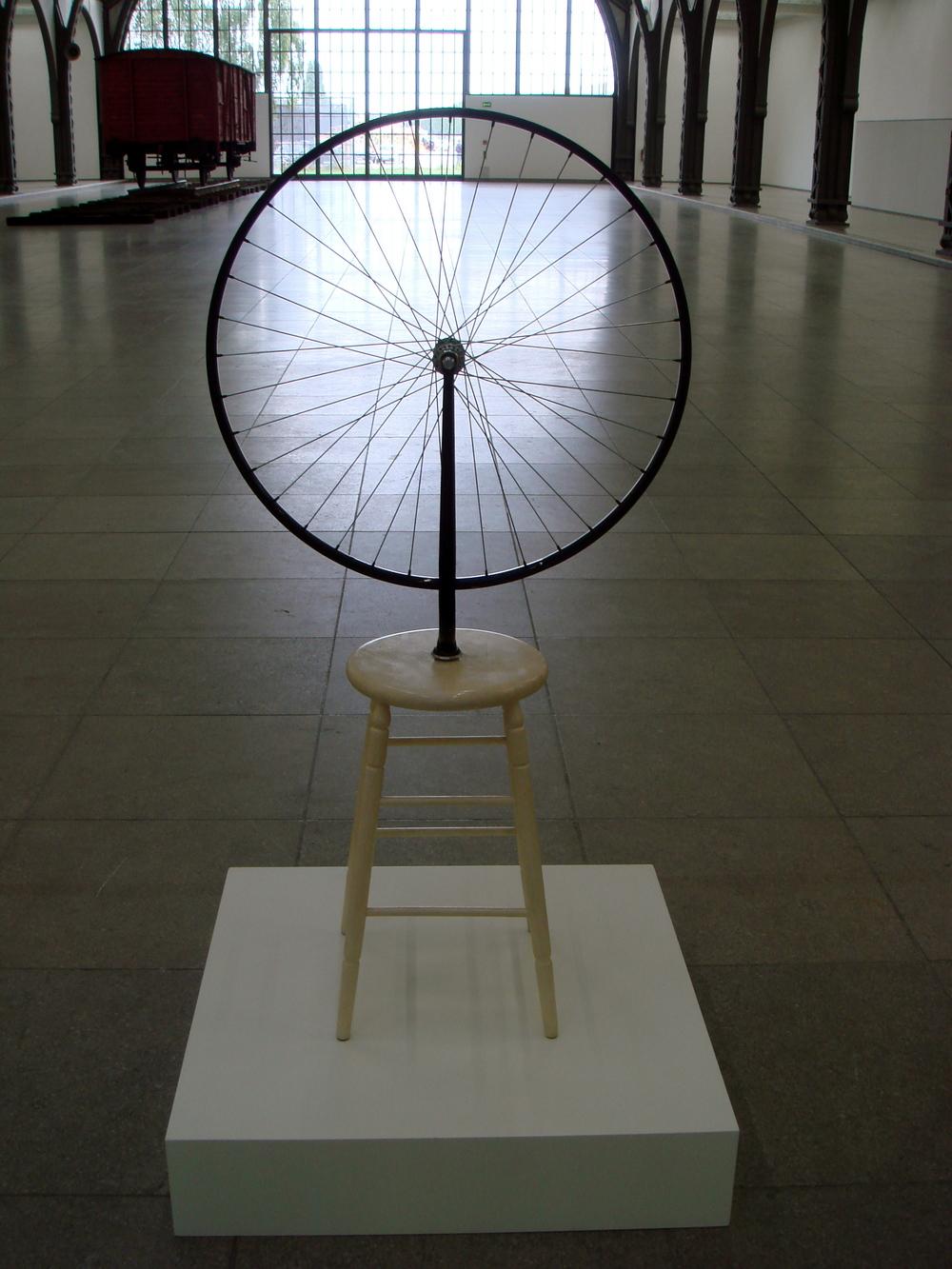 Bicycle Wheel, 1913   Marcel Duchamp
