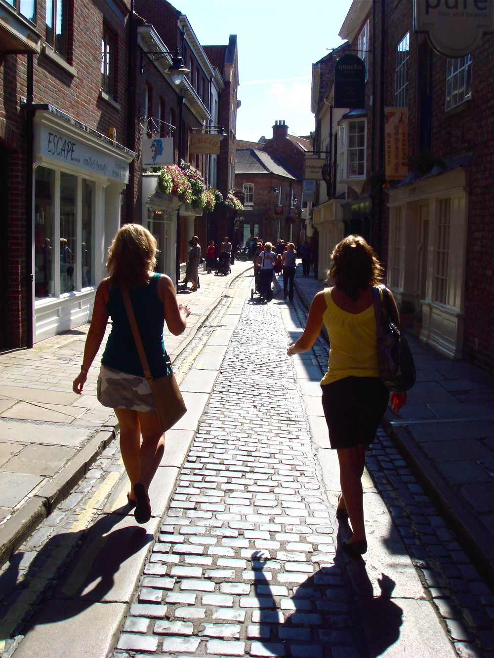 Exploring the historical city of York, UK