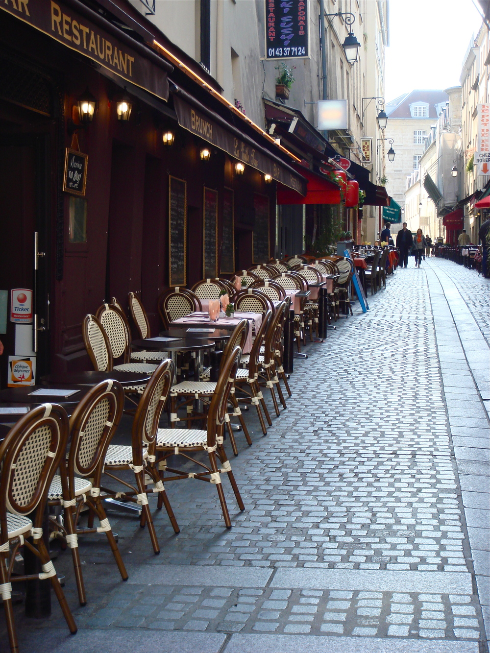 Cafe in Paris, France
