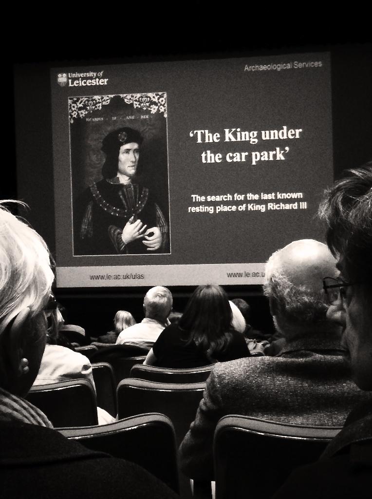 The discovery of King Richard III