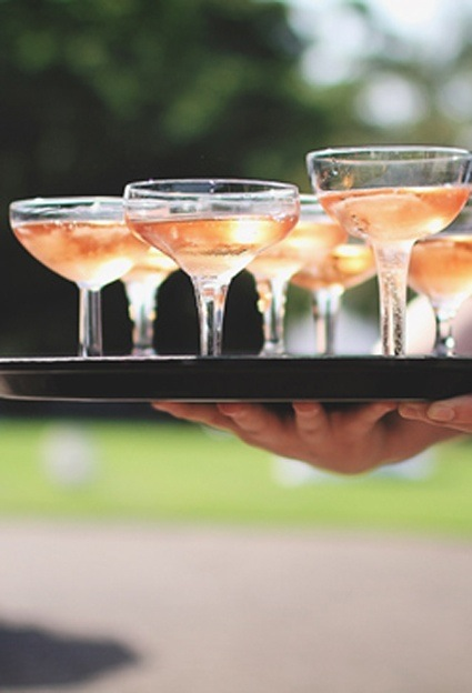 The history of champagne glasses