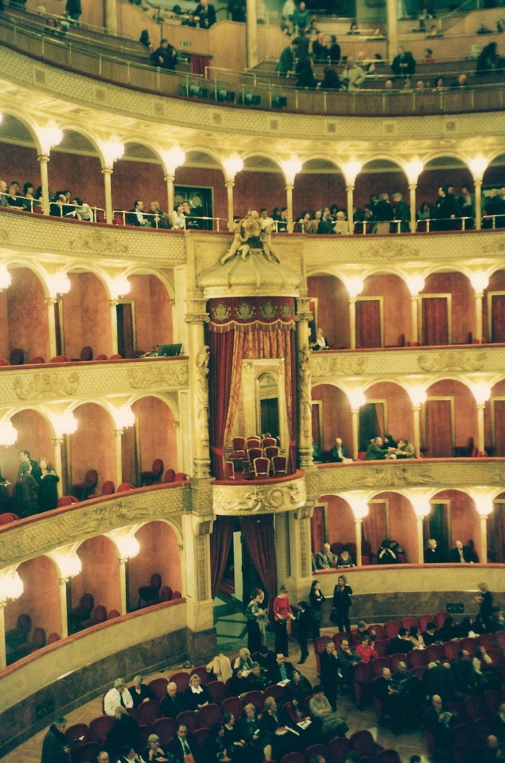 The opera house in Rome, Italy