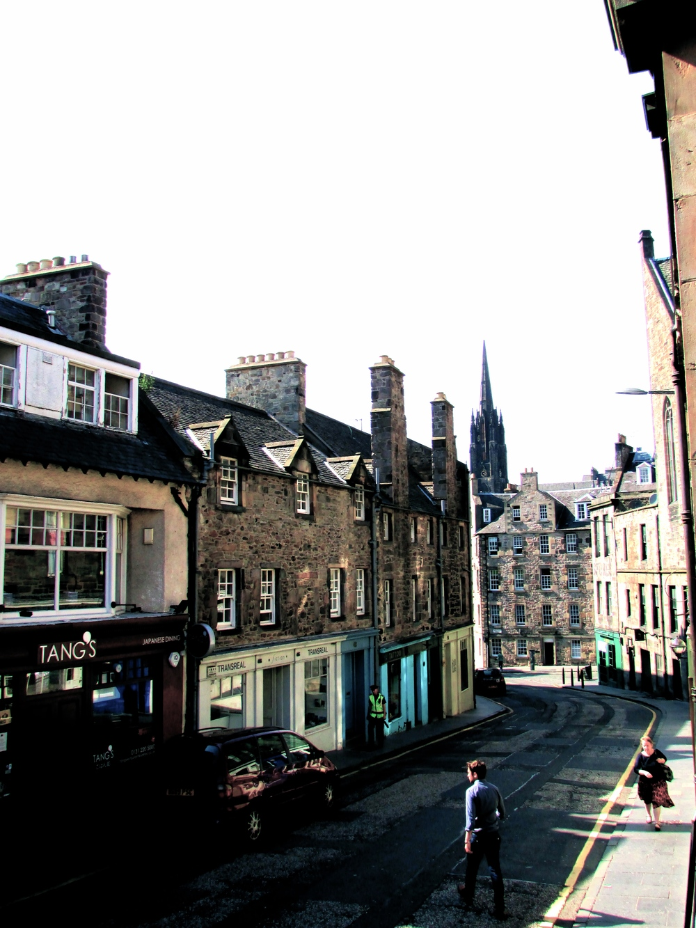 Edinburgh Old Town Centre, Scotland