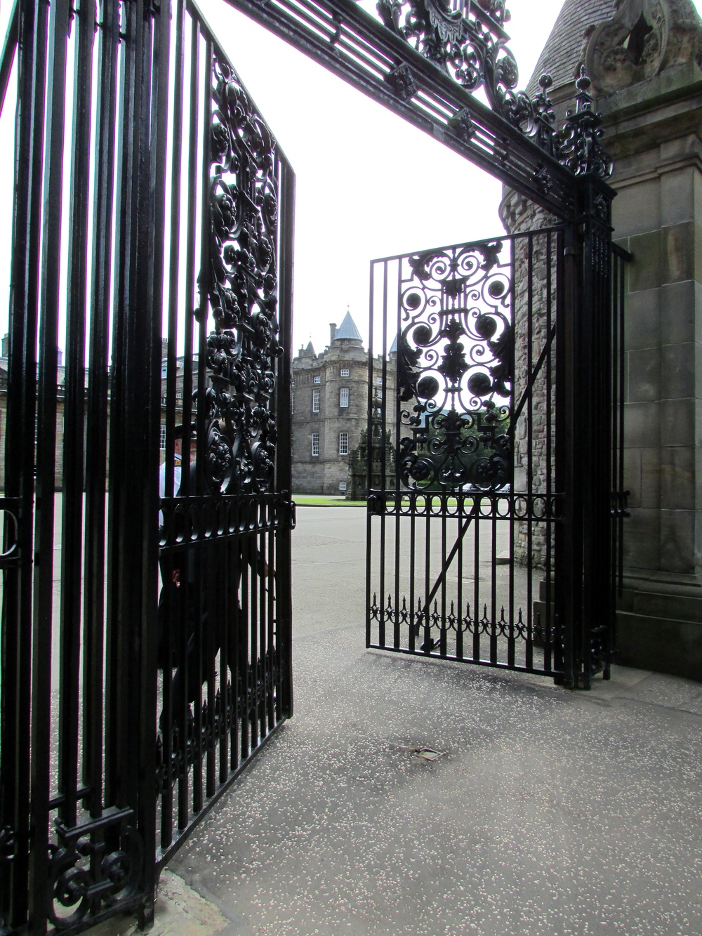 This is as close as I could get to the Palace of Holyroodhouse, as a member of the royal family was staying there for the week that I was in Edinburgh