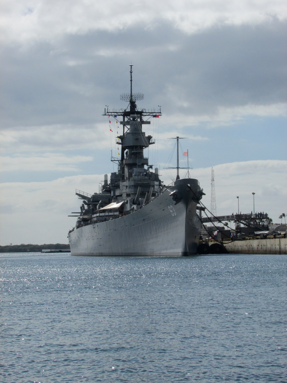 Visiting the USS Arizona in Pearl Harbor