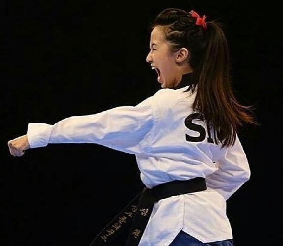 Taekwondo (image via @Ilove_taekwondo on Instagram)
