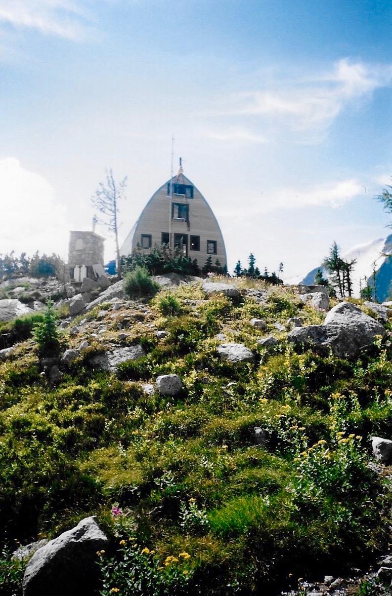 Conrad Kain Hut in Bugaboo Provincial Park, Canada