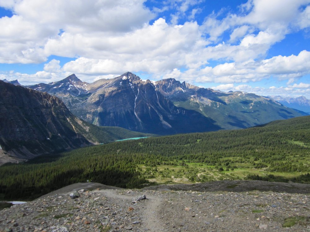 The Canadian Rocky Mountains in Jasper, Alberta