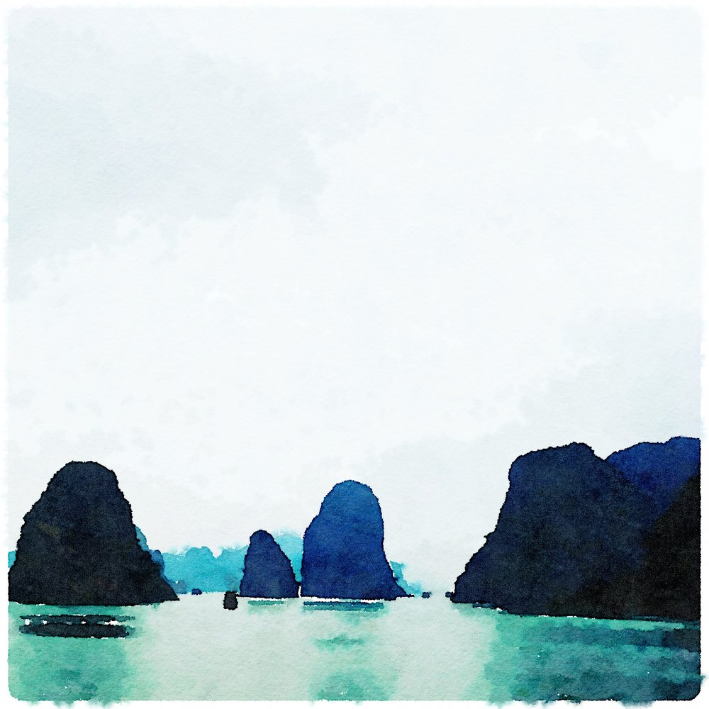 Halong Bay Lindsay Shapka Art