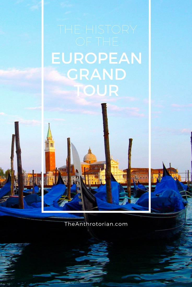 The history of the 16th Century European Grand Tour