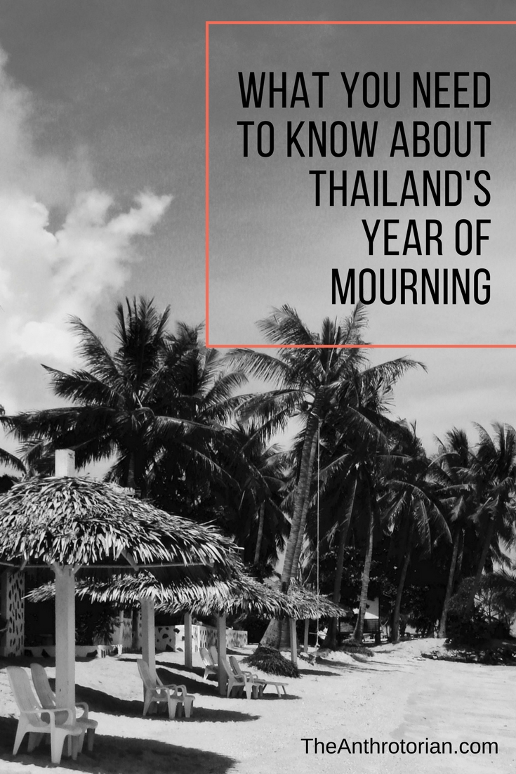 What visitors need to know about Thailand's year of mourning