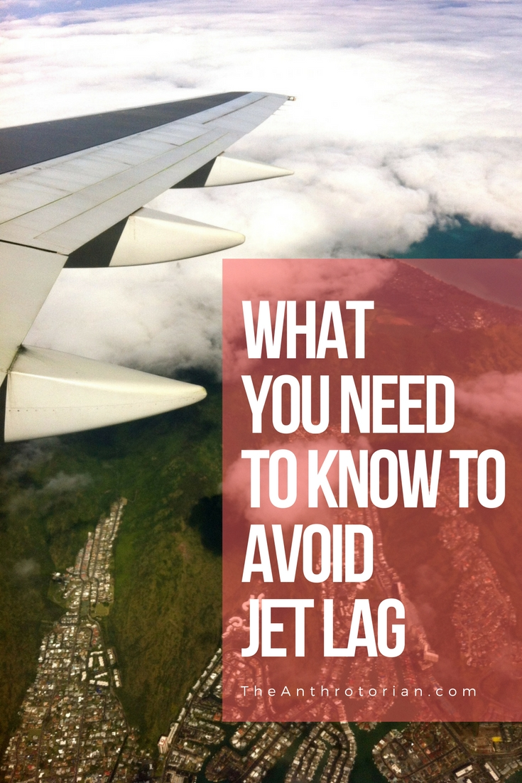 Jet Lag prevention tips