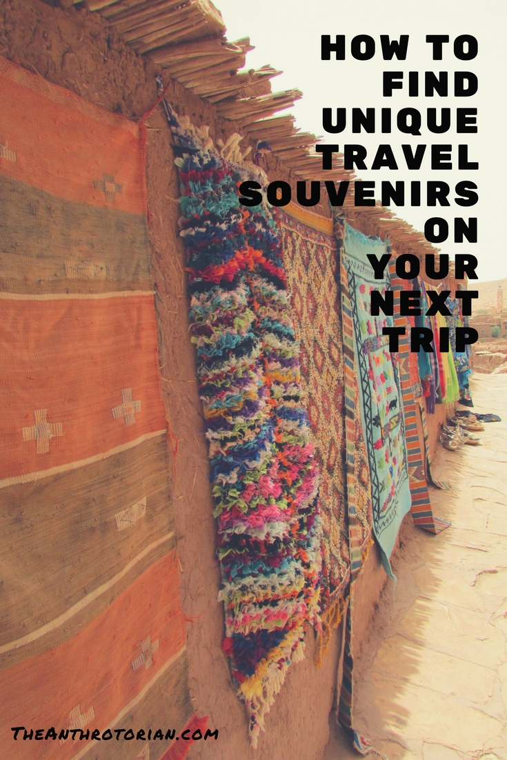 How to find unique travel souvenirs
