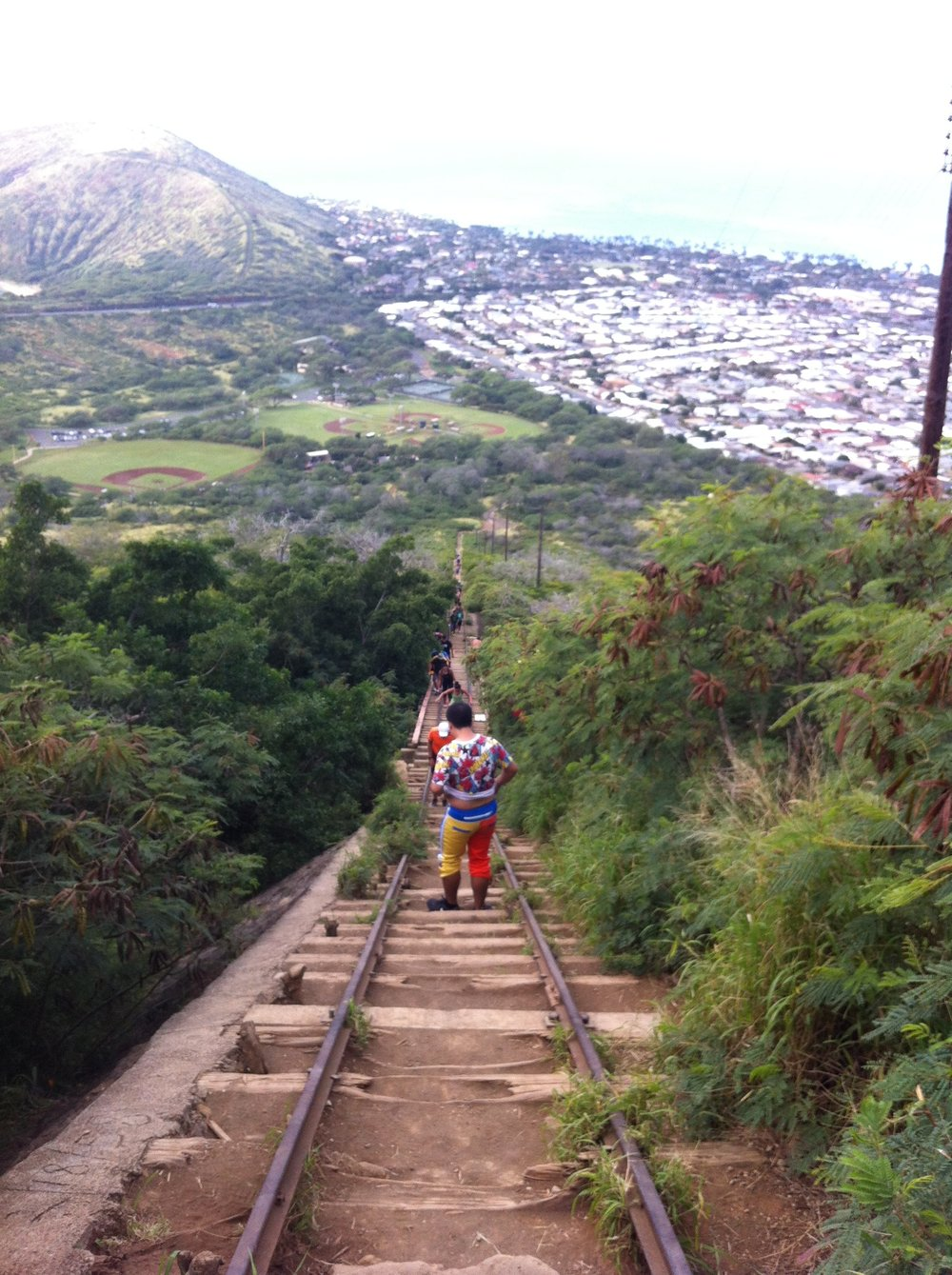Hiking on Oahu
