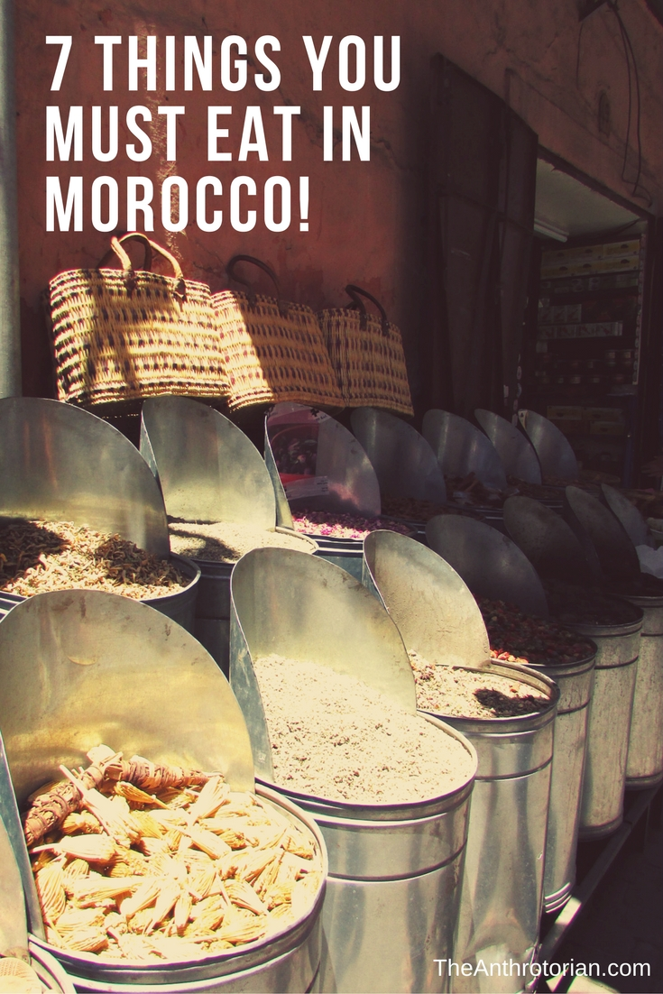 Food you must eat in Morocco