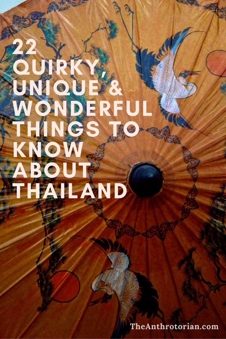 Things to love about Thailand