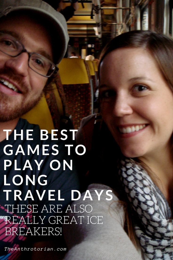Games to play while travelling