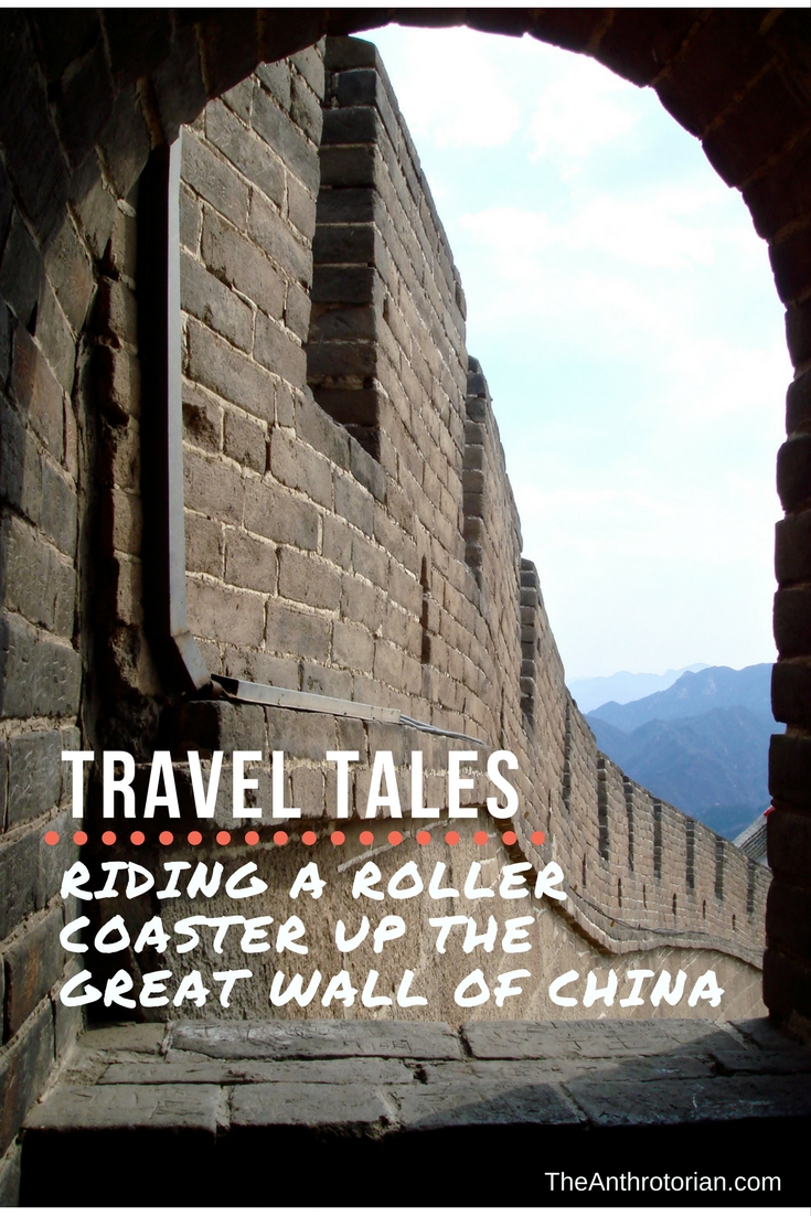 Travel Tales: Riding a Roller Coaster Up The Great Wall of China