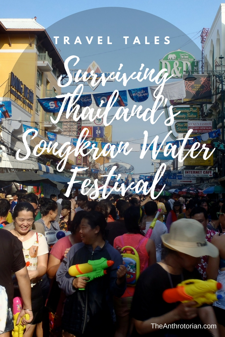 Travel Tales: Surviving Thailand's Songkran Water Festival
