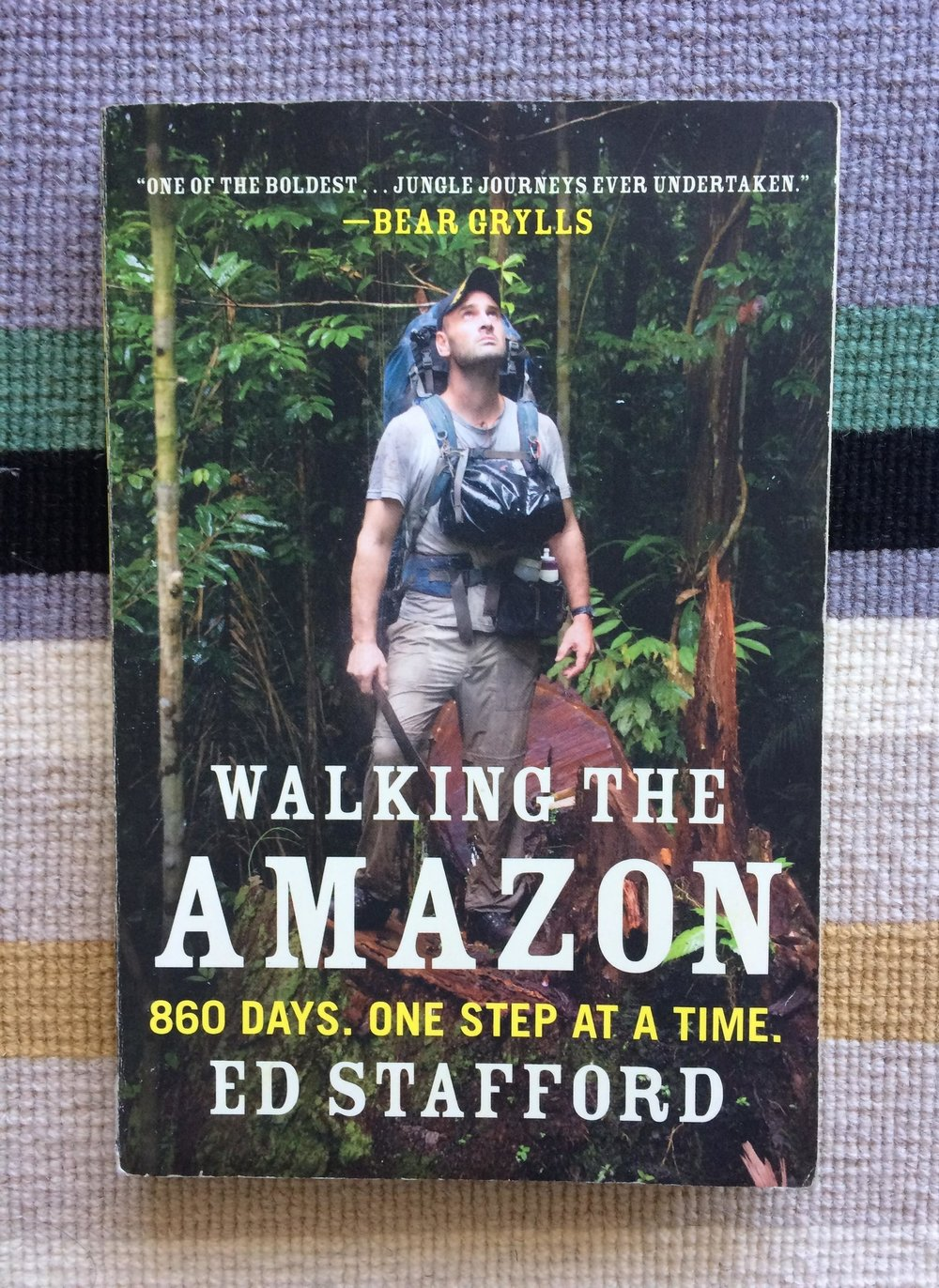 Reads For The Road: Walking The Amazon by Ed Stafford