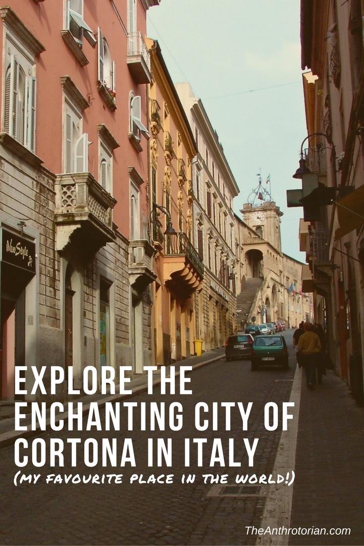 Visit Cortona in Italy