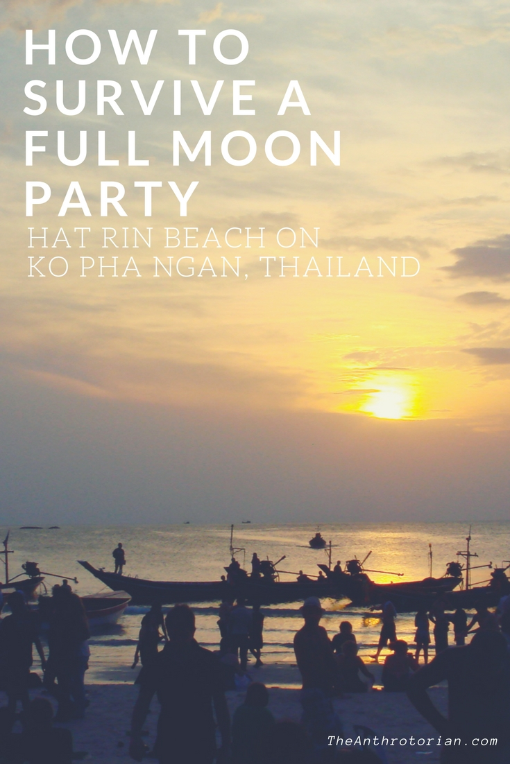 How to Survive a Full Moon Party in Thailand