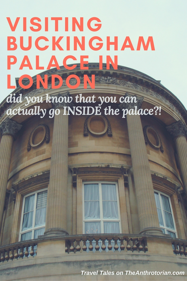 Travel Tales: Visiting Buckingham Palace in London, England