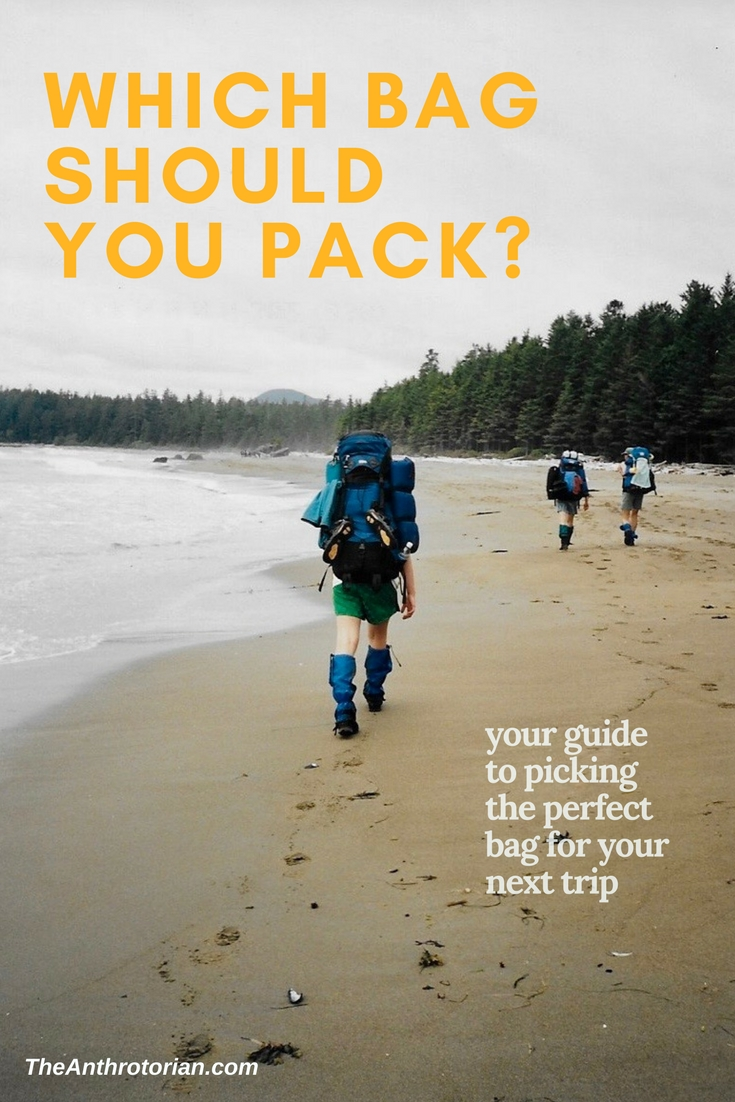Which bag to use on your next trip