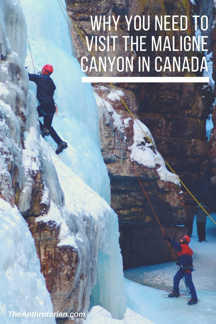 Visit Maligne Canyon in Jasper Alberta