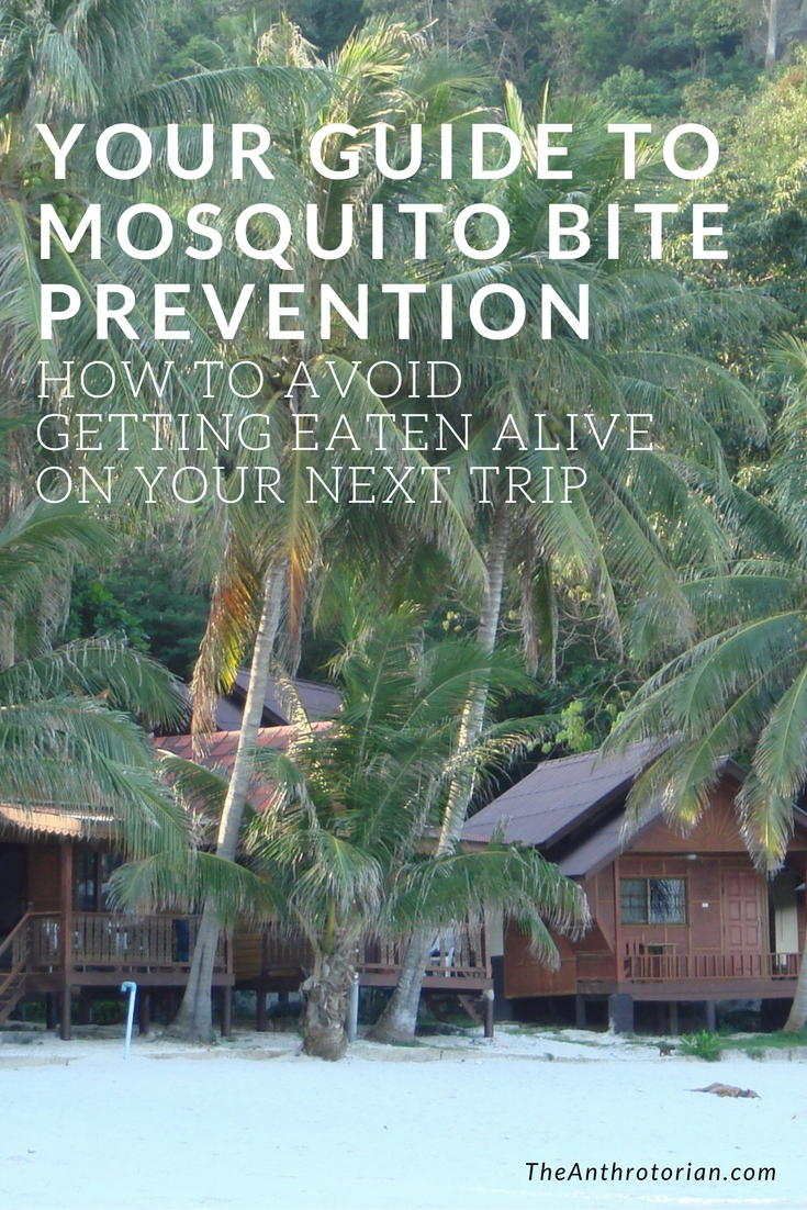 How to prevent mosquito bites when travelling