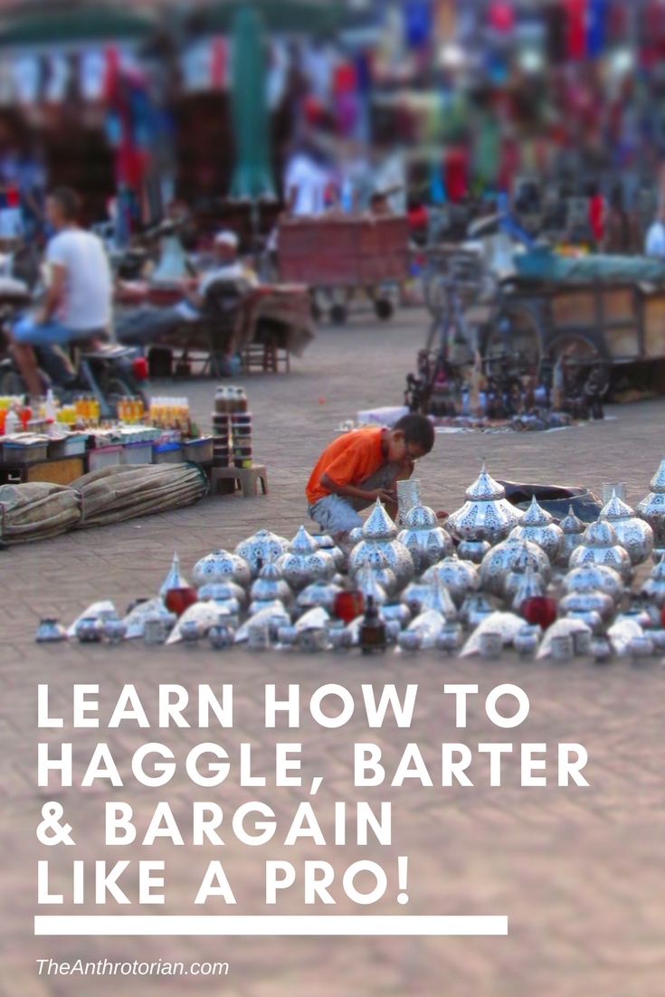 Learn How To Haggle, Barter & Bargain Like a Pro!
