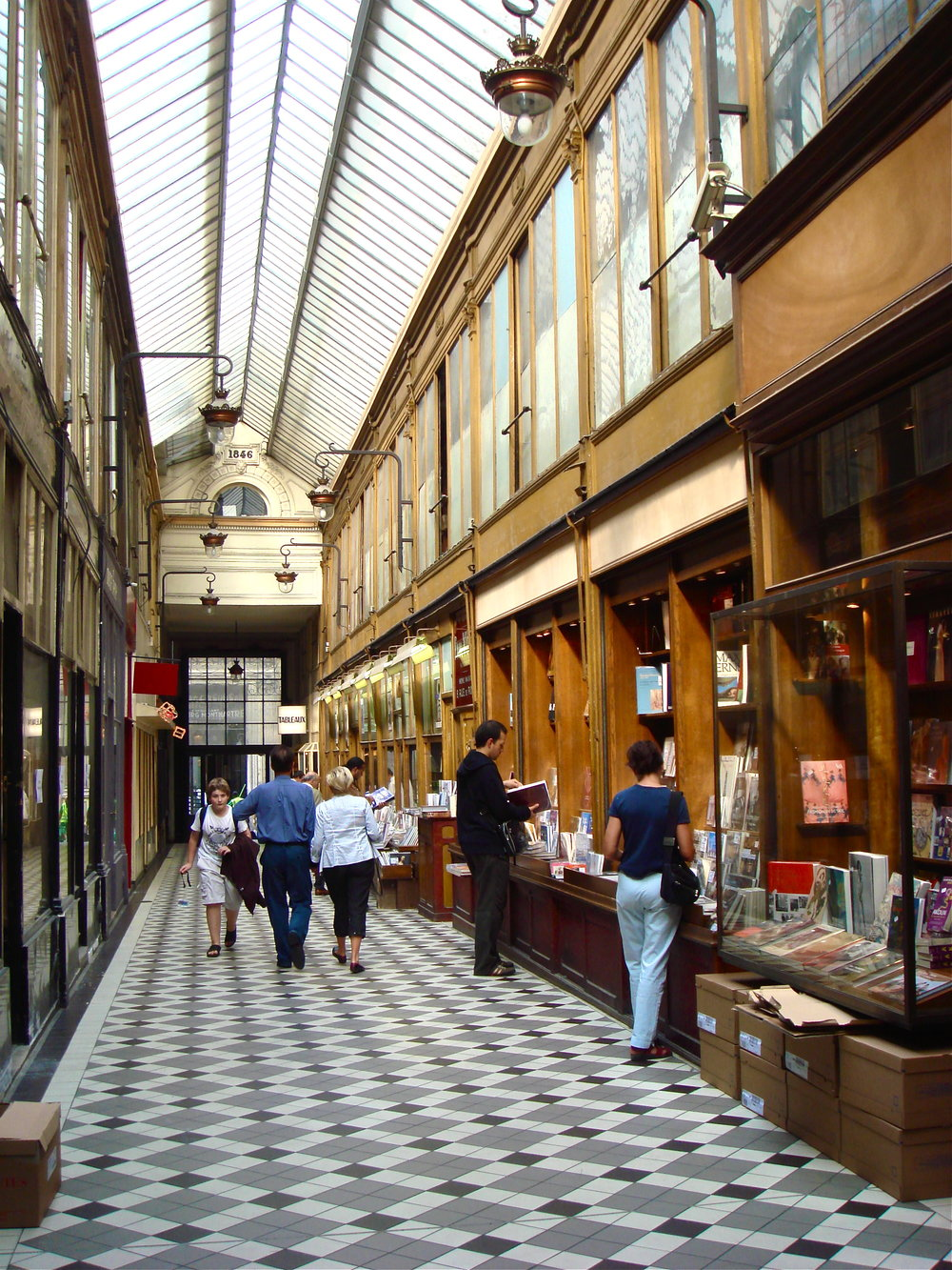 The Covered Passageways of Paris