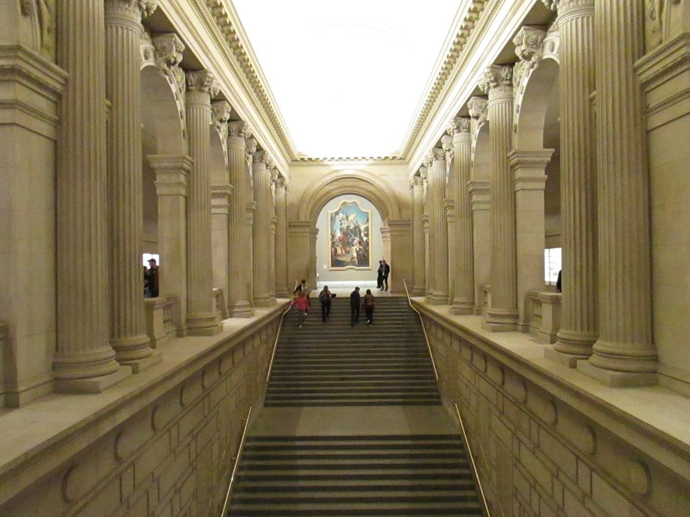 The Met grand staircase