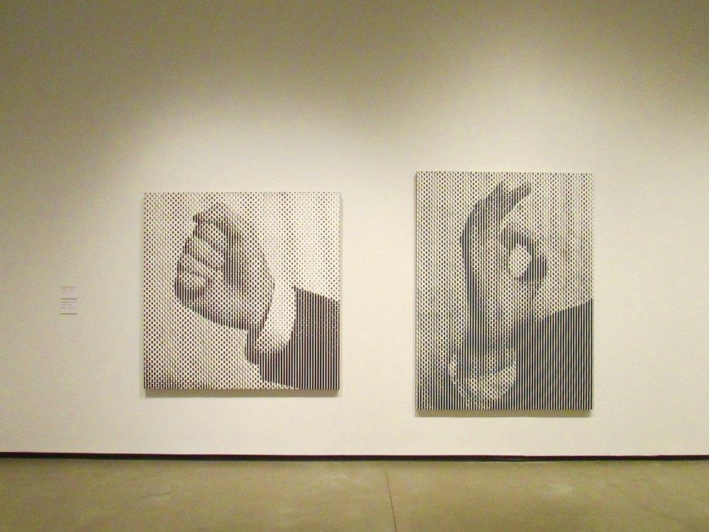 Hand Gesture, 1992; Hand Gesture #6 (OK), 1992