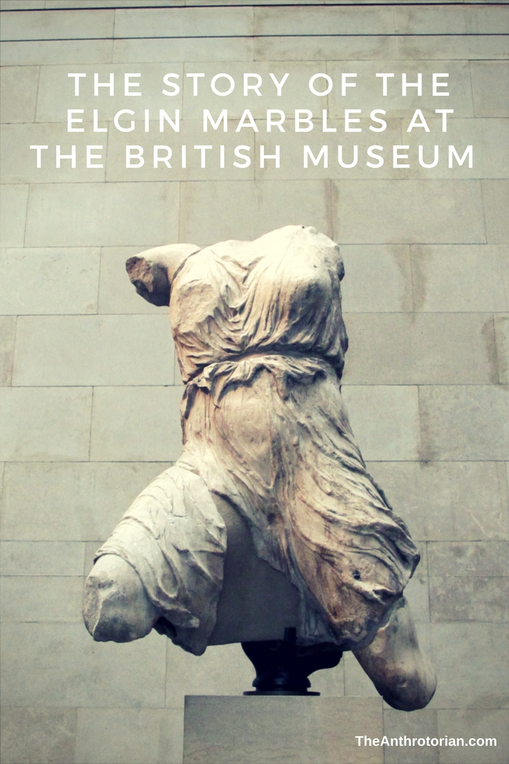 The Elgin Marbles At The British Museum
