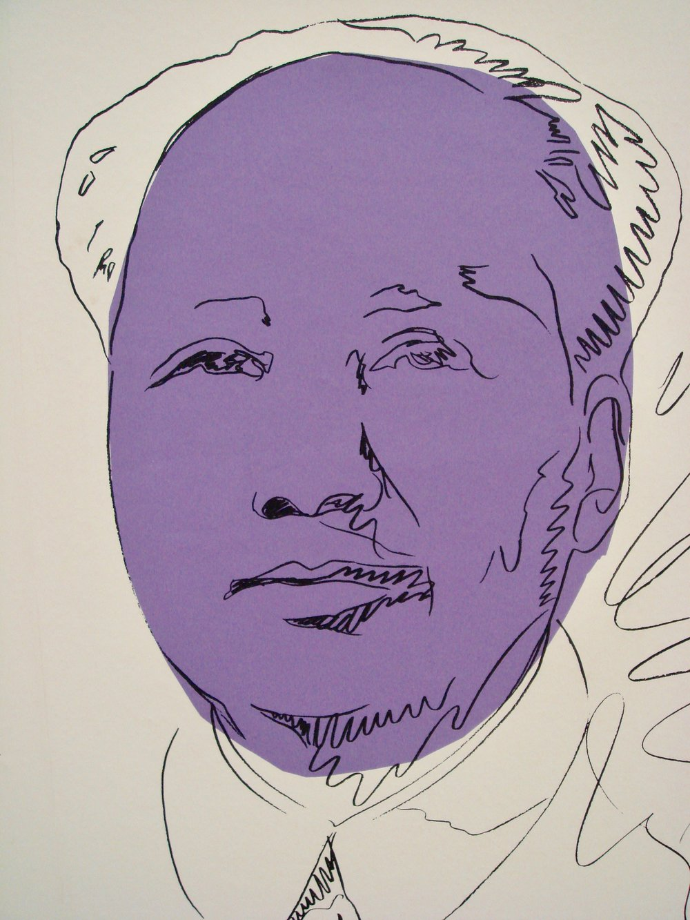 Warhol's Mao at the Hamburger Bahnhof Museum