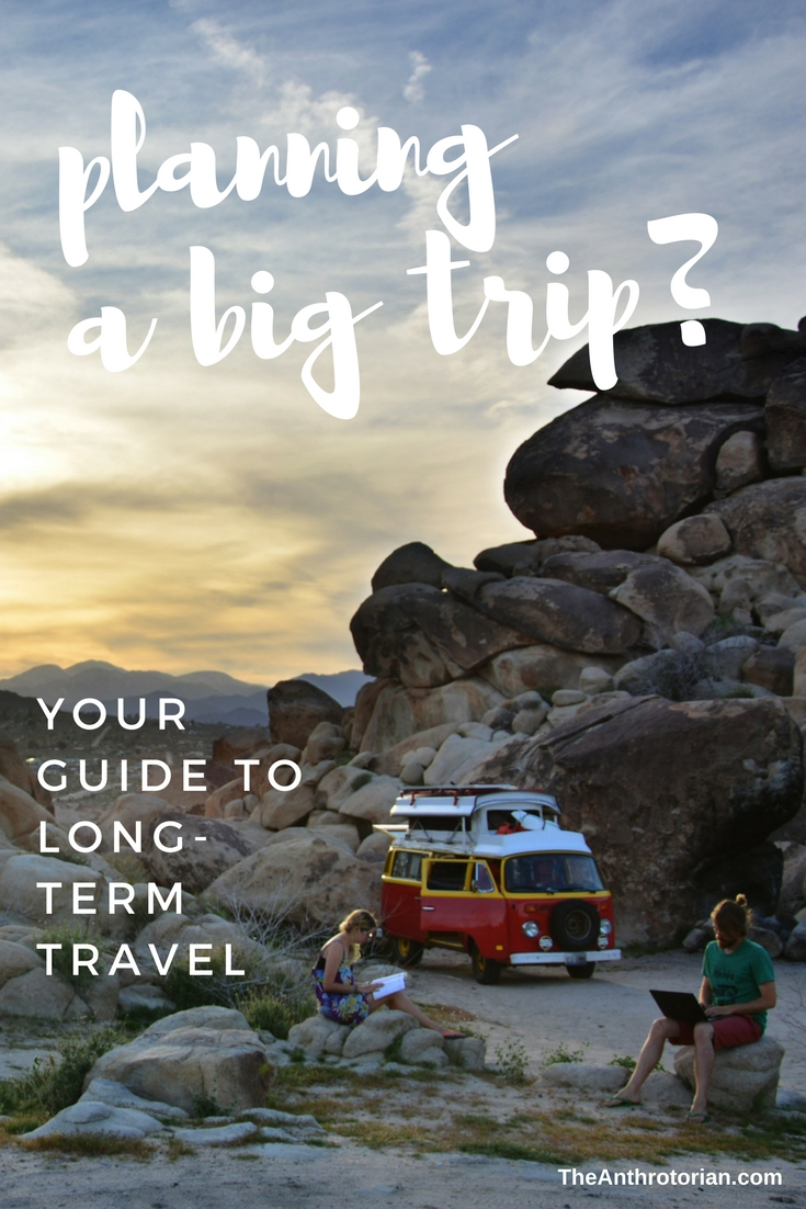 your guide to long-term travel