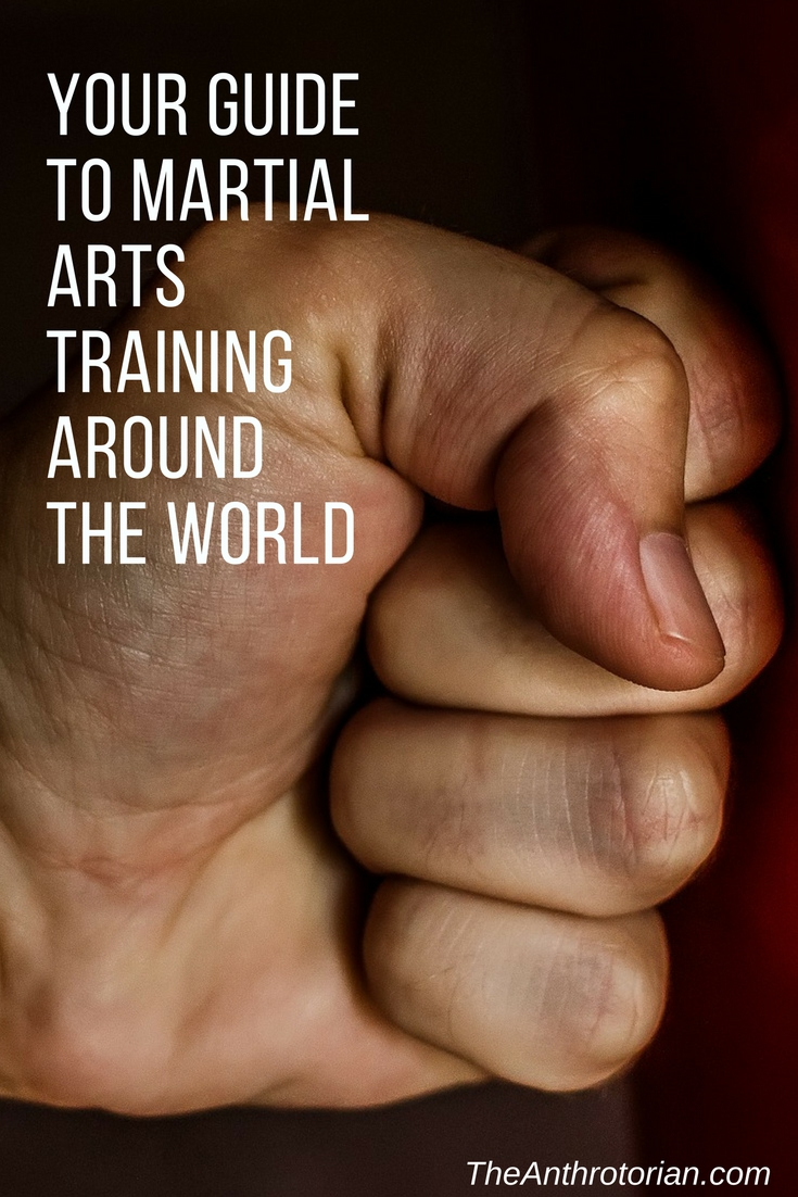 martial arts around the world