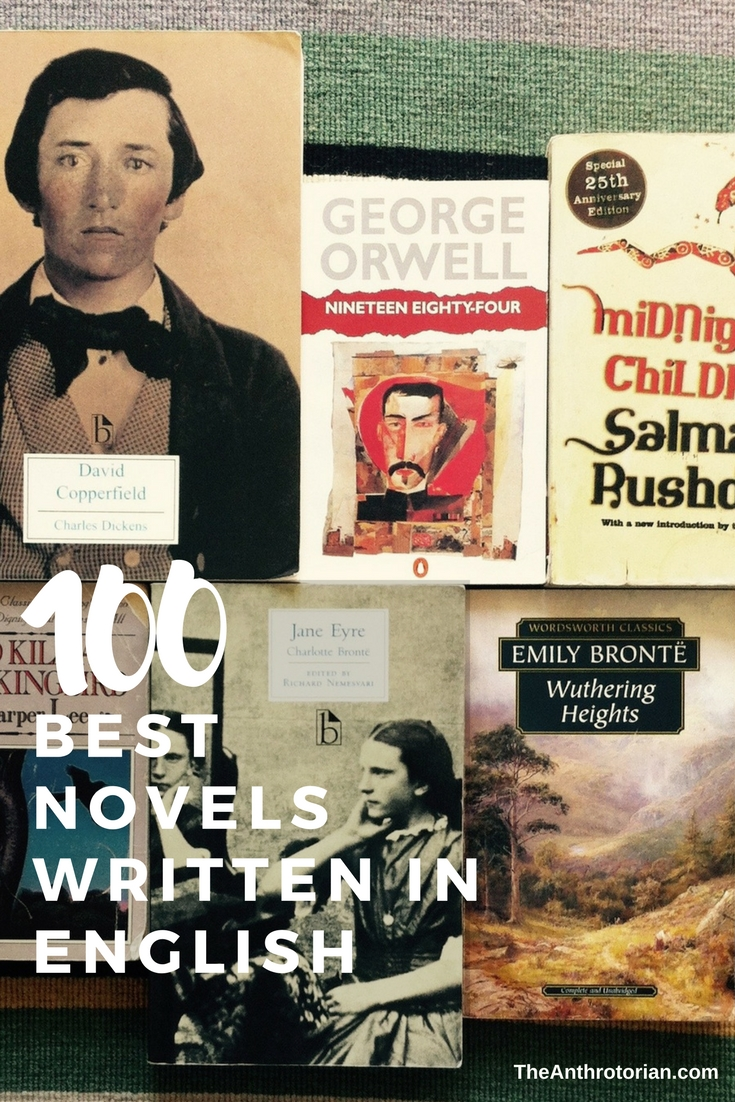 100 Best Novels Written in English