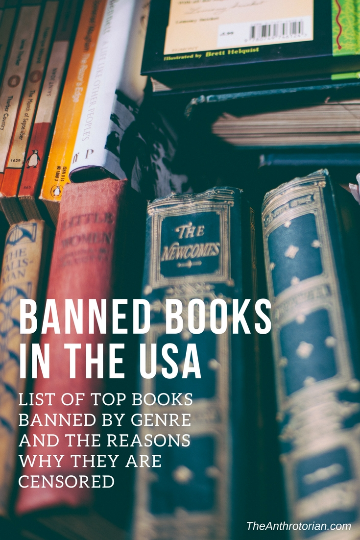 Banned Books In The USA